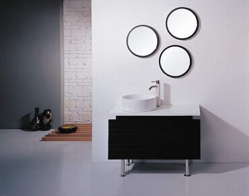 Armario de ba o con espejos im genes y fotos - Armario con espejo para bano ...