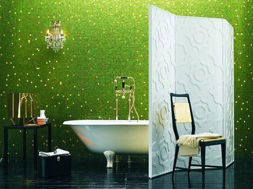 Azulejos Baño Verdes:Baño con azulejos verdes :: Imágenes y fotos