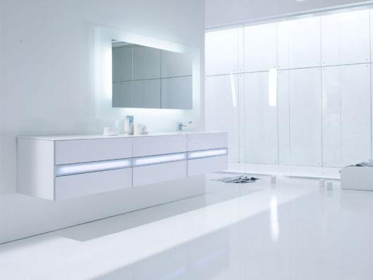 Galería de imágenes: Cuartos de baño minimalistas