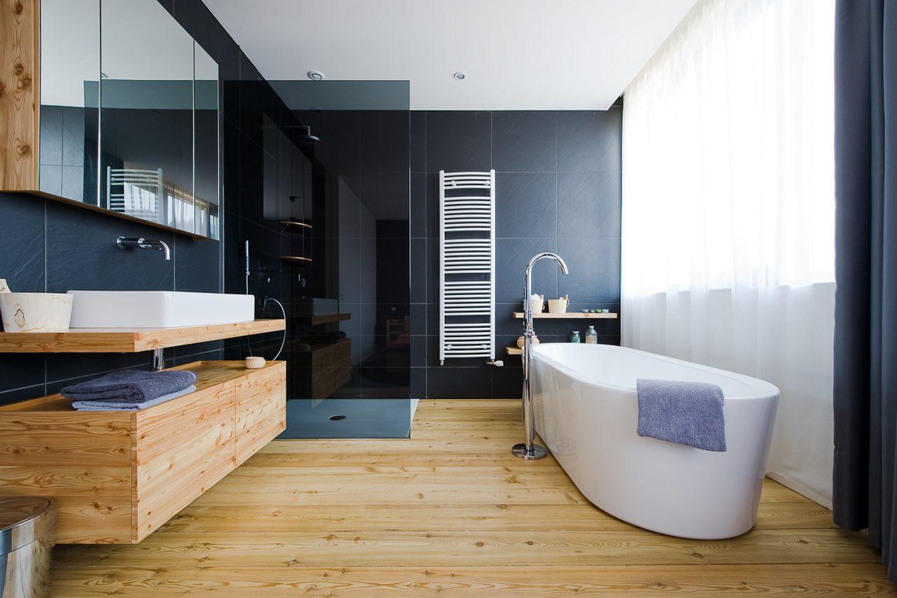 cuartos de ba o de inspiraci n zen. Black Bedroom Furniture Sets. Home Design Ideas