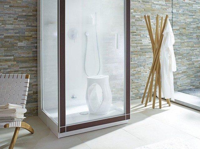 Ducha para un cuarto de ba o zen im genes y fotos - Cuartos de banos pequenos con ducha ...