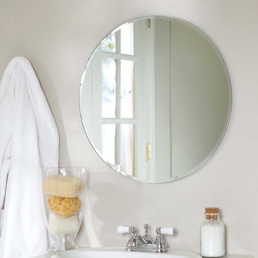Espejo circular para el ba o im genes y fotos Espejos pequenos pared