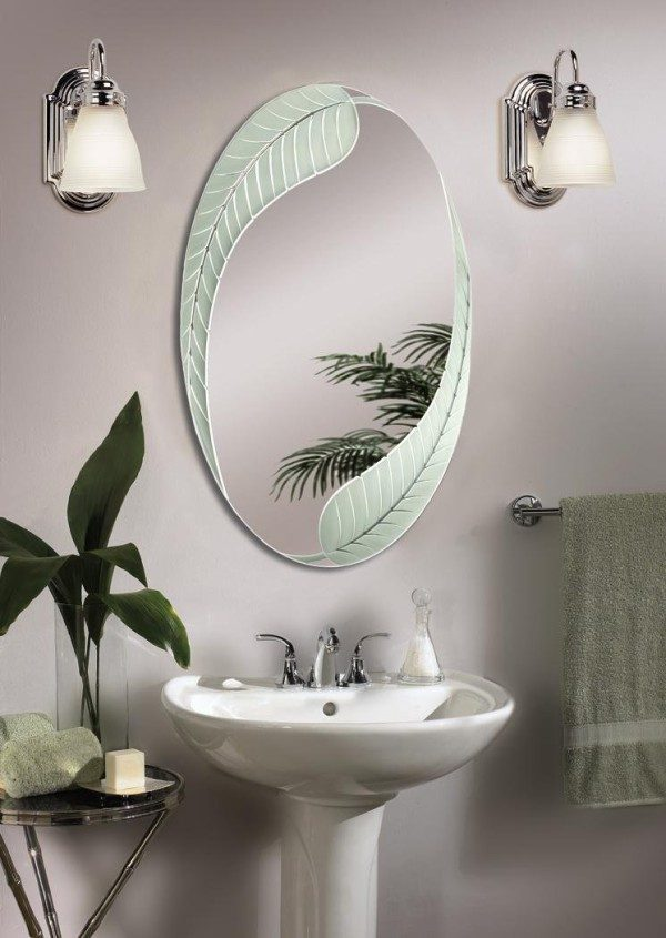 small bathroom mirror ideas espejo de ba 241 o con luces de pared im 225 genes y fotos 20481
