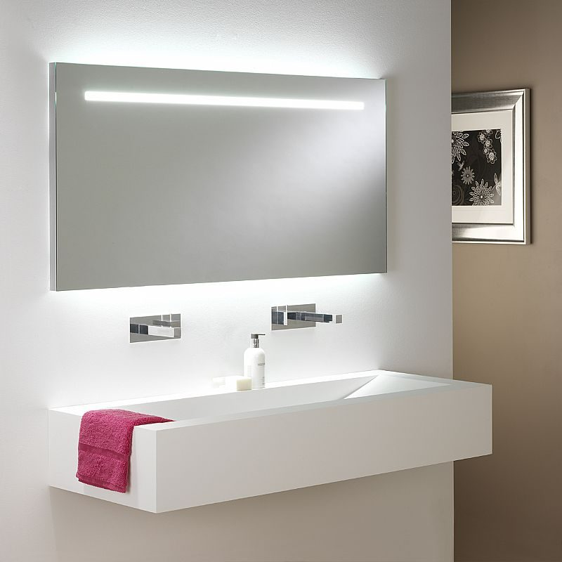 Espejo de ba o con luces led im genes y fotos - Iluminacion para espejos de bano ...