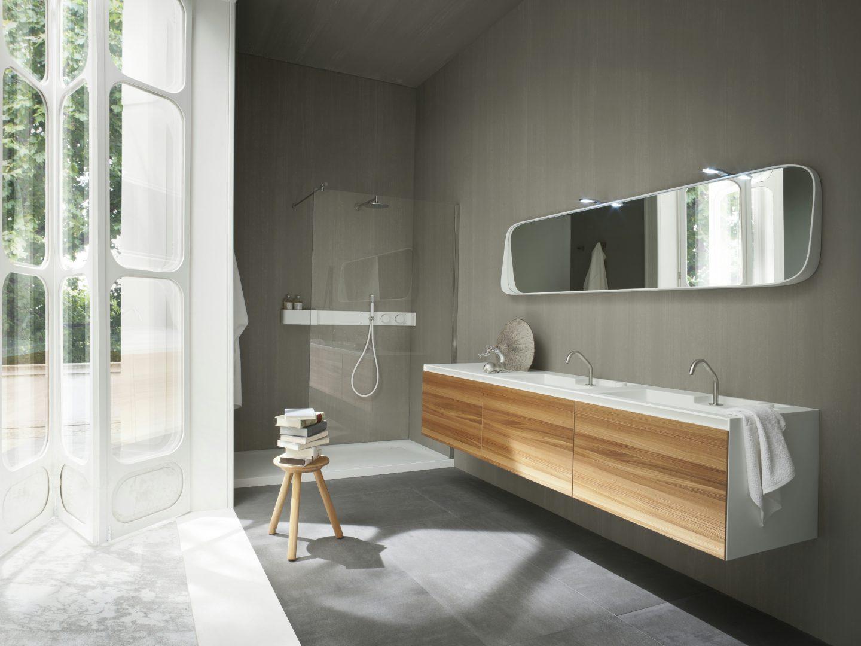 Espejo de ba o moderno im genes y fotos for Espejos cuarto de bano