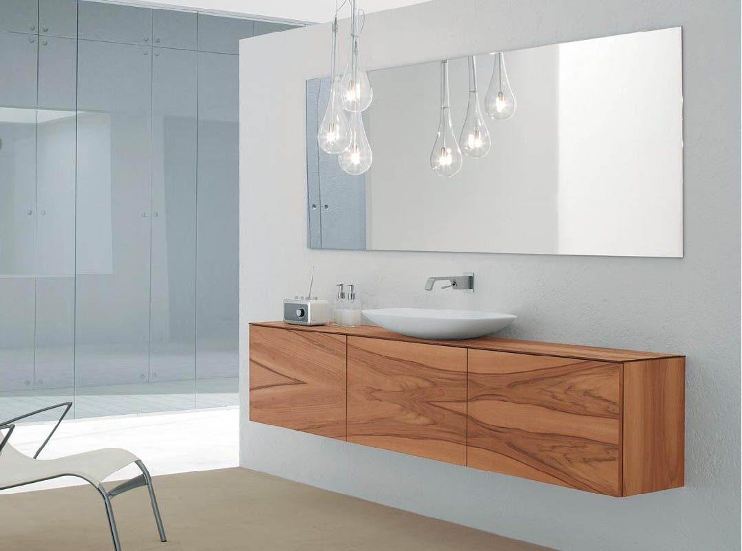 Iluminación de un cuarto de baño minimalista :: Imágenes y fotos