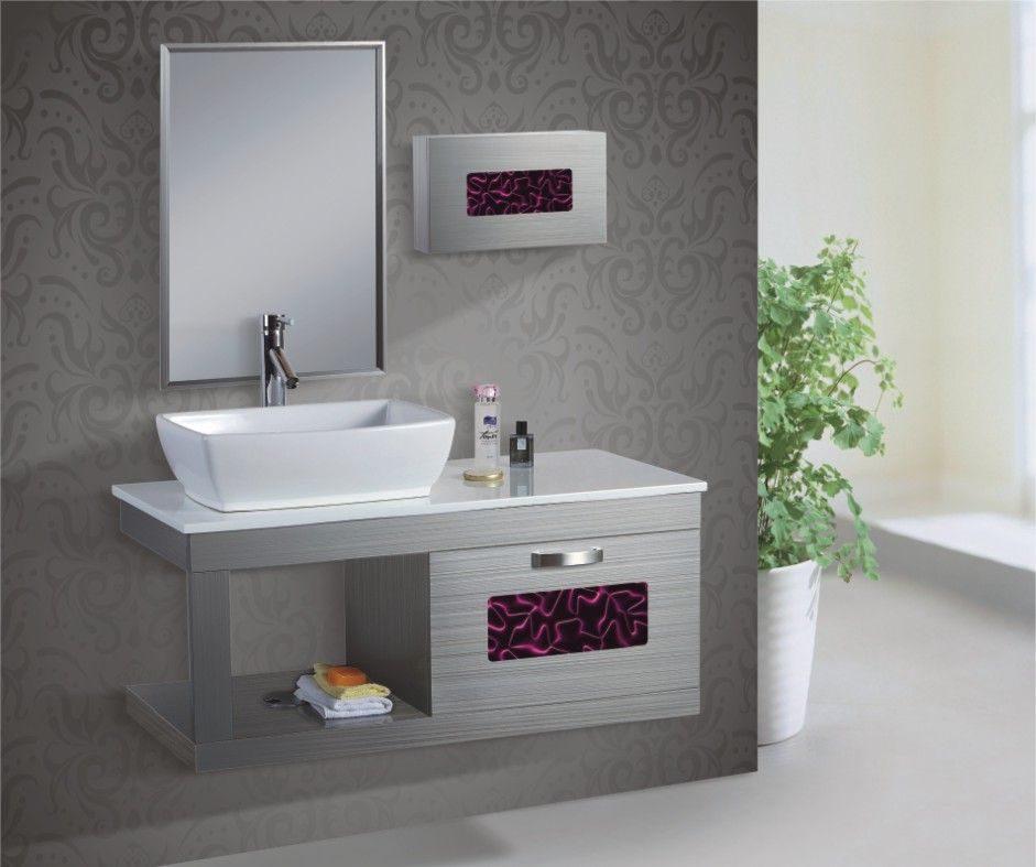 Lavabo con espejo integrado im genes y fotos for Donde venden espejos