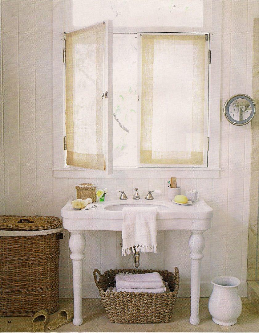 Lavabo para un ba o peque o im genes y fotos for Banos rusticos con encanto