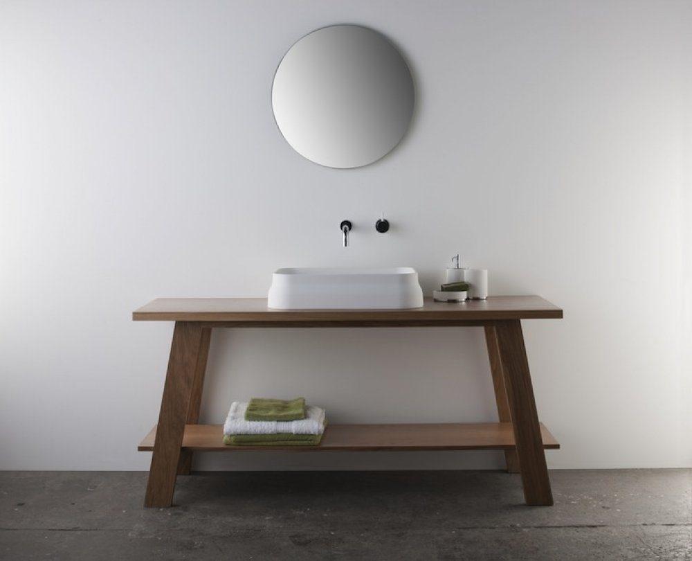 Mueble de ba o de estilo oriental im genes y fotos for Muebles de bano con estilo