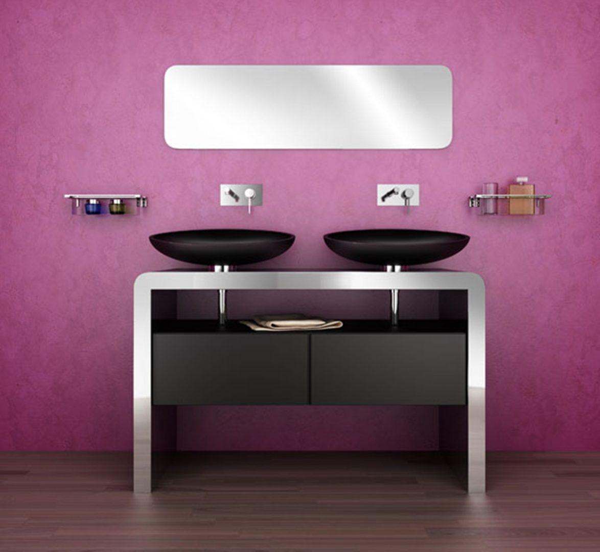Muebles para lavabo modernos im genes y fotos for Mueble lavabo moderno